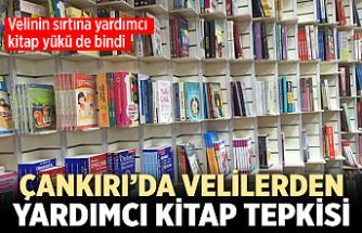 Çankırı'da velilerden yardımcı kitap tepkisi!