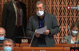 Karabük Belediye Başkanı Vergili, Strasbourg'da Hollanda'ya insan hakları dersi verdi!