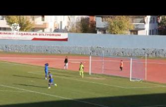 Hakkı Tosun penaltıyı böyle kaçırdı!