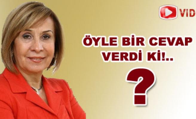 Aynur Bektaş, öyle bir cevap verdi ki...