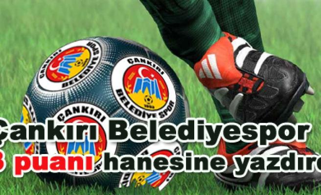 Çankırı Belediyespor - Gebzespor: 3 -1