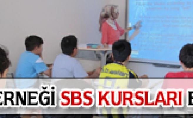 ÇARE DERNEĞİNDE SBS KURSLARI BAŞLADI
