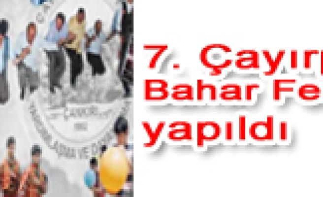 7. Çayırpınar Bahar Festivali yapıldı