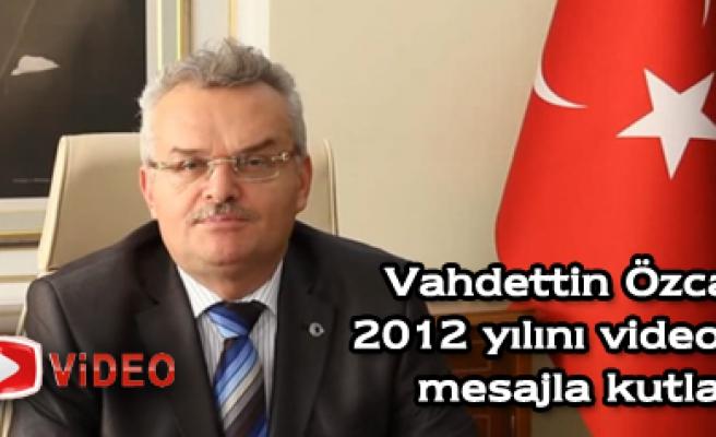 Çankırı Valisi Özcan, yeni yılı videolu mesajla kutladı.