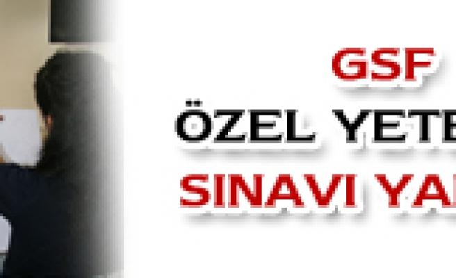 GSF ÖZEL YETENEK SINAVI YAPILDI