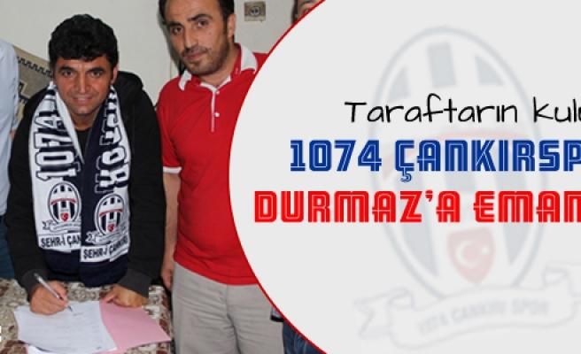 1074 Çankırspor deneyimli antröner ile sözleşme imzaladı!