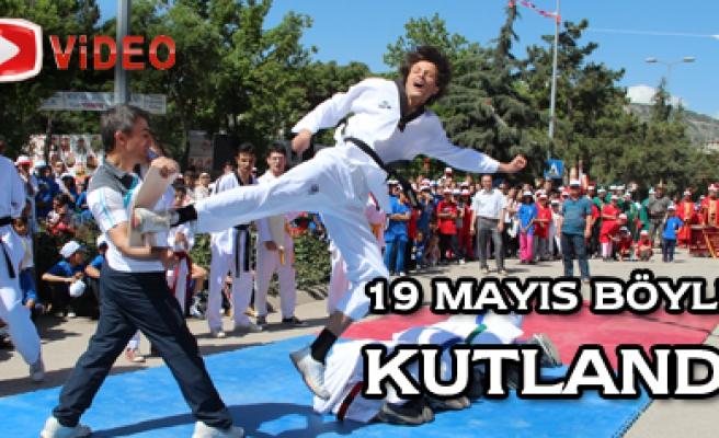 Çankırı da 19 Mayısa Mehterli Kutlama