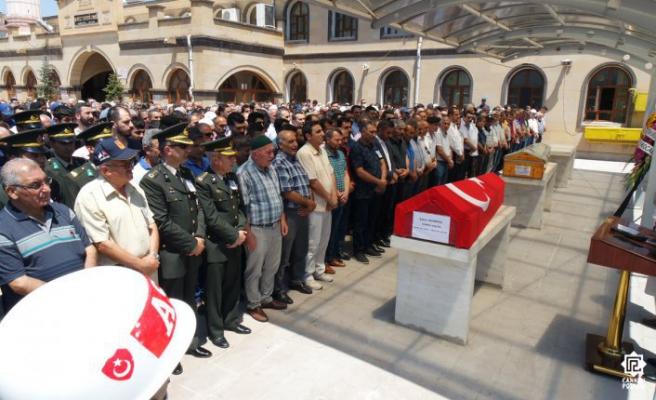 Kıbrıs Gazisi Şahin Demiröz Son Yolculuğuna Uğurlandı