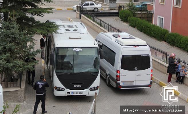 Çankırı'da okul taşıtına servisten men cezası!