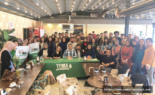 Tema Vakfı Çankırı'da Umut Yeşertiyor