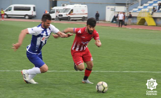 1074 Çankırıspor Türkiye kupasında hedefe kilitlendi!