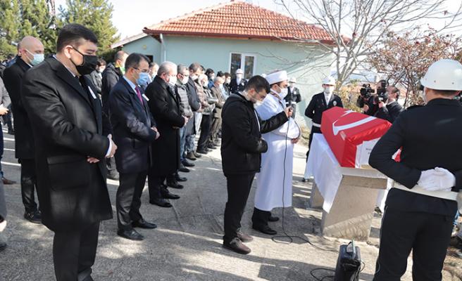 TBMM Başkanı Şentop'un Koruma Polisi Çerkeş'te Toprağa Verildi!