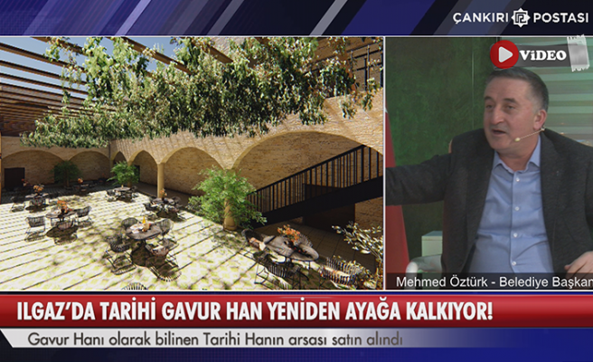 Ilgaz'da Tarihi Gavur Han yeniden ayağa kalkıyor!