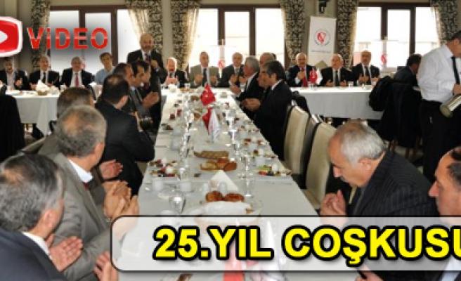 Çankırı Vakfı 25. yılını kutladı