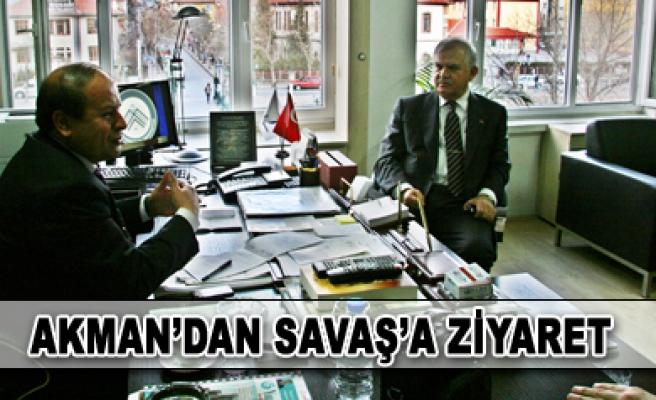 Milletvekili Akman dan Rektörlük Ziyareti