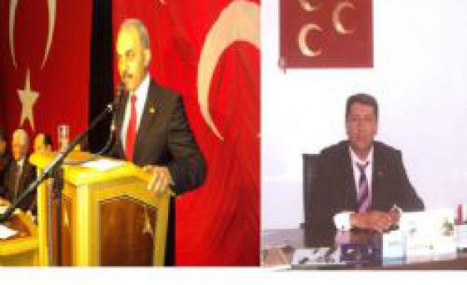 Çankırı MHP adayları Dr. Şahin Eraslanve Hüseyin Yakar