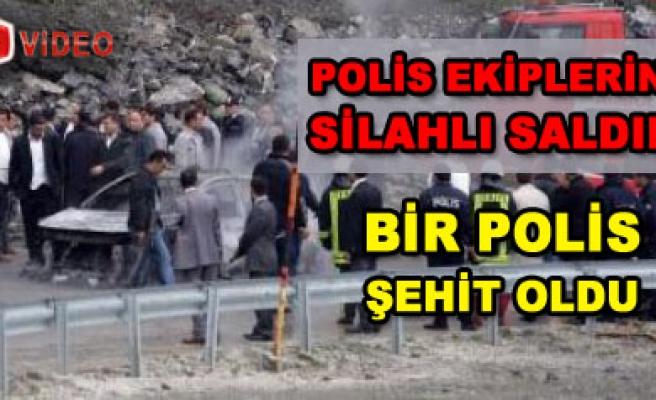 Ankara ya dönüş yolunda silahlı saldırı