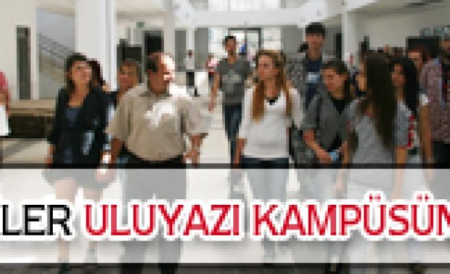 GSF öğrencileri Uluyazı Kampüsünü gezdi.