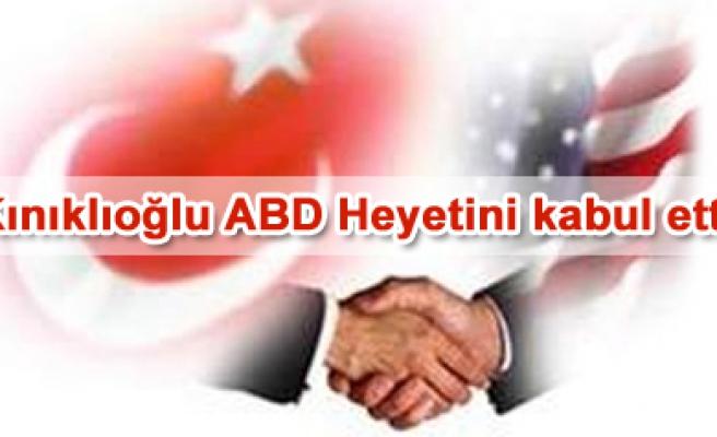 ABD Heyeti, Türkiye-ABD Dostluk Grubunu Ziyaret etti