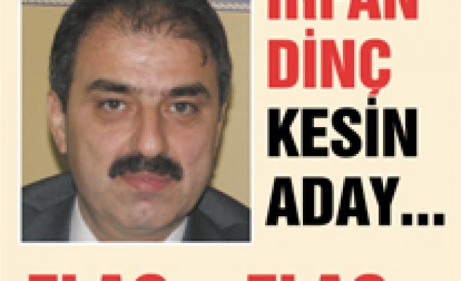 FLAŞ.. FLAŞ.. AK Parti Çankırı adayı İrfan Dinç