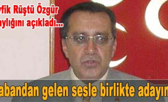 Pazar günü yapılacak MHP İl Kongresi iki adaylı!