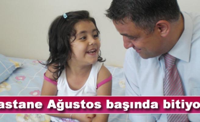 Kınıklıoğlu, Yeni hastane binası Ağustos başında bitiyor