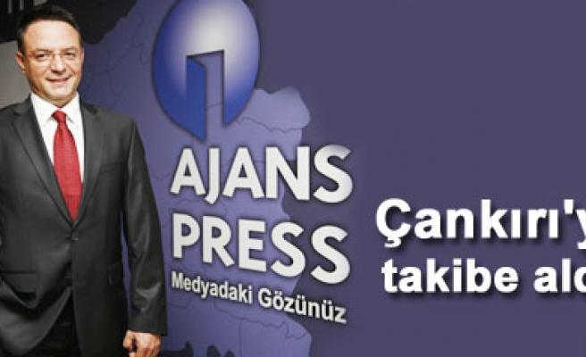 Ajans Press Çankırı medyasını da networkune ekledi