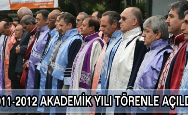 ÇKÜ 2011-2012 Akademik yılı açıldı