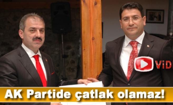 İdris Şahin; AK Partide çatlak yok!