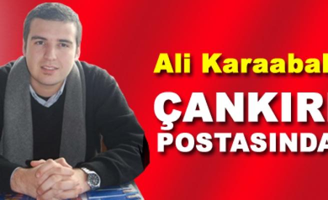Ali Karaabali Çankırı Postası yazı ailesine katıldı