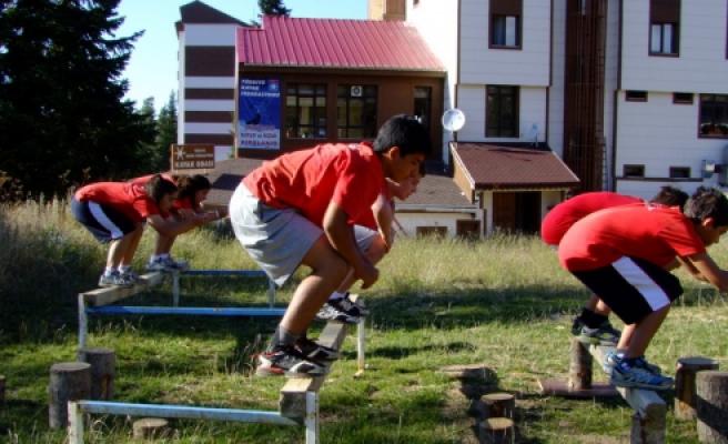 Alp Disiplini Çocuk Kayak Milli Takım Kampı Sona Erdi
