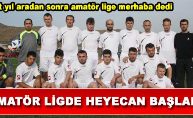 Çankırı 1. Amatör Futbol Liginde heyecan başladı