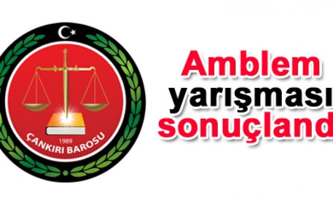Çankırı Barosu amblem yarışmasını Ercan Şeker kazandı