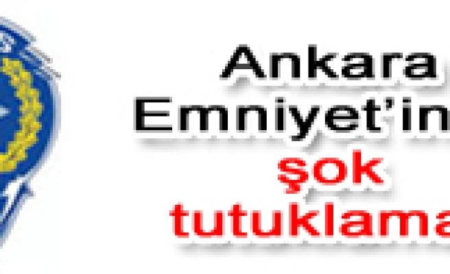 Ankara Emniyet Müdürü Orhan Özdemir tutuklandı.