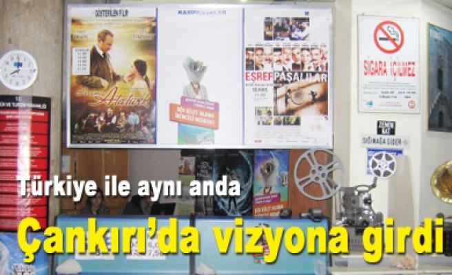 Dersimiz Atatürk filmi Çankırı izleyicisi ile buluştu!