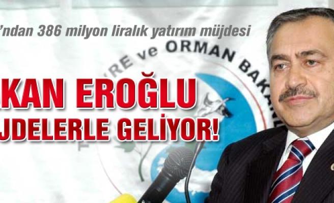 Bakan Veysel Eroğlu yatırım müjdeleri ile Çankırı'ya geliyor!