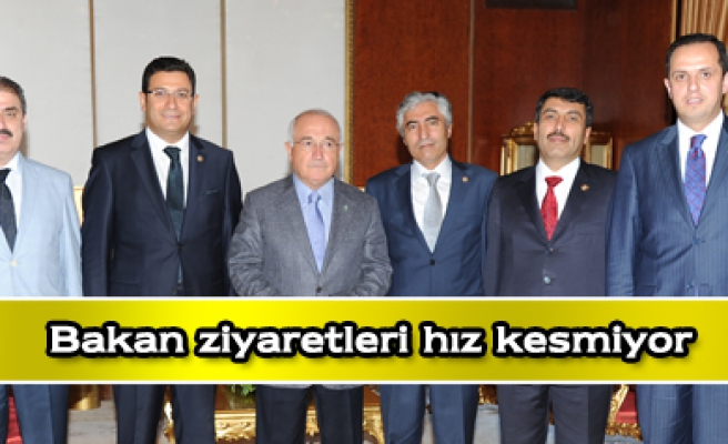 Ak Parti Çankırı Heyeti Bakan ziyaretlerini sürdürüyor