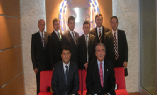 Çankırı Barosunun Türkiye Baro Birliğini Ziyareti
