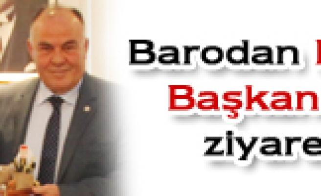 BARODAN TÜRKİYE BAROLAR BİRLİĞİNE ZİYARET