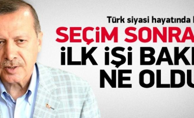 Başbakan Erdoğan Eyüp'te şükür namazı kılıyor