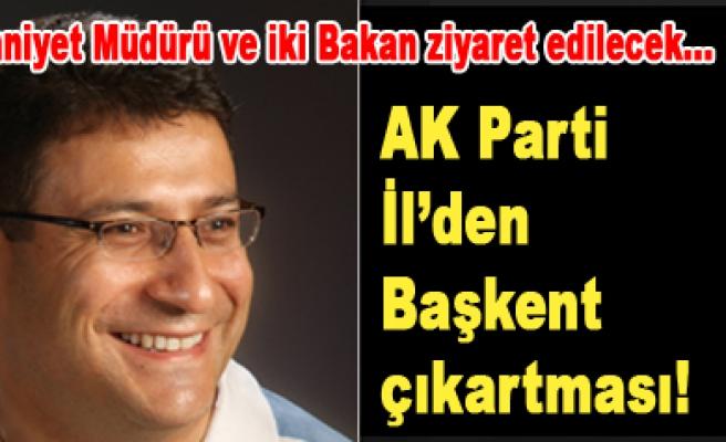 Av. İdris Şahinle birlikte AK Partide çalışmalar hızlandı...
