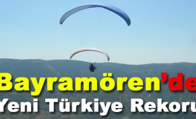 Türk Pilotlar Türkiye Rekoru Bayramören de kırıldı.