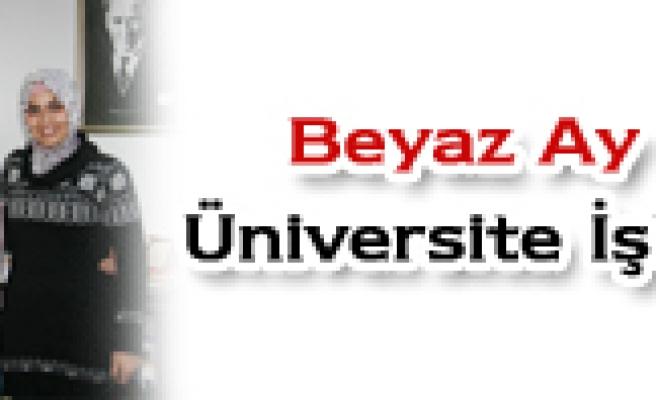 Beyaz Ay Derneği- Üniversite İşbirliği