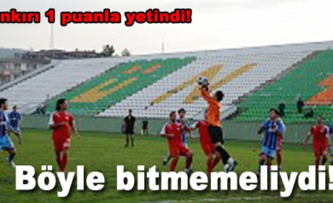 Ofspor 0 Çankırı Belediyespor 0 Maç sona erdi!