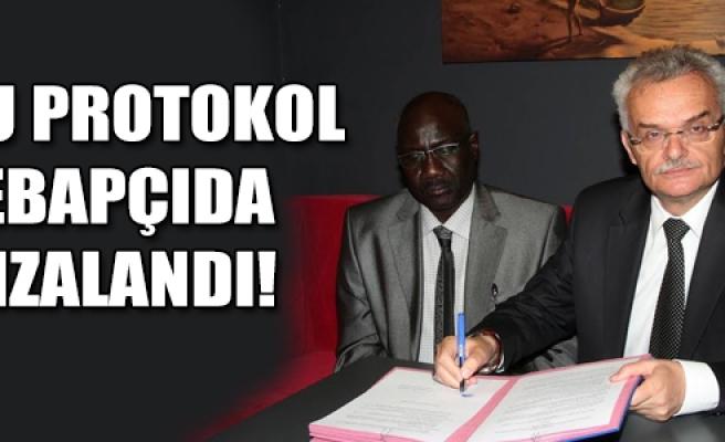 Bu protokol Kebapçıda imzalandı!