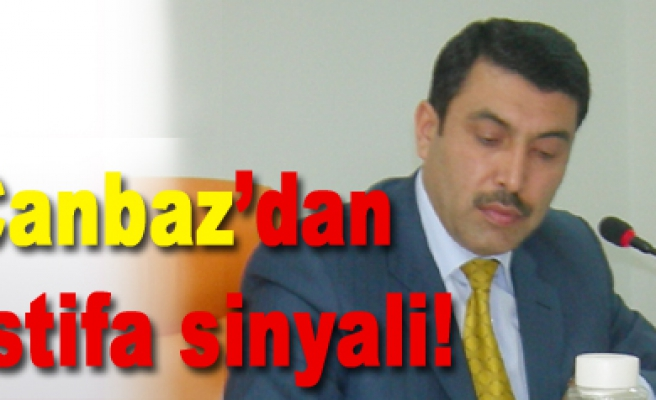 Osman Canbaz'dan istifa sinyali!