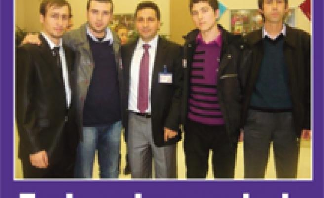 Çan-Genç Trabzon Gençlik şölenindeydi…