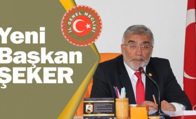 Çankırı İl Genel Meclisi Başkanını seçti!