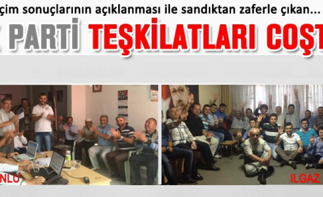 Çankırı'da Ak Parti teşkilatları coştu!