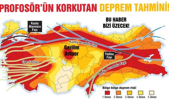 Çankırı'da büyük bir deprem olabilir!